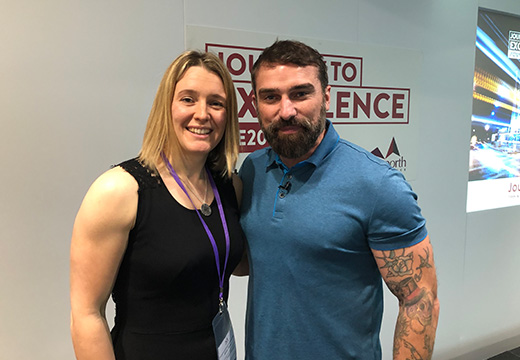 JTE 2019 with Ant Middleton