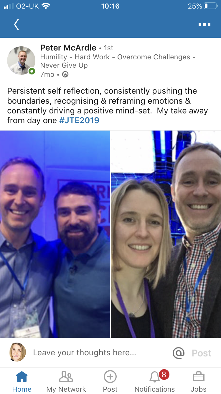 JTE 2019 Conference Selfie